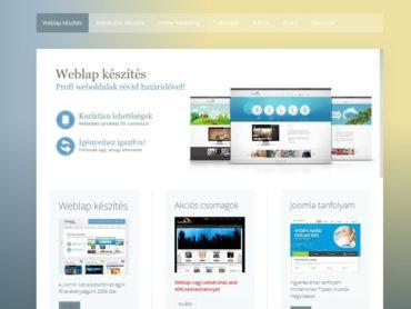 Prémium joomla weboldal készítés