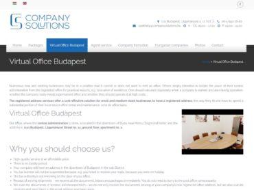 Virtual Office Budapest Hungary